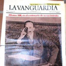 Coleccionismo Periódico La Vanguardia: PERIÓDICO *LA VANGUARDIA*, DOMINGO 11 MAYO 1986 *ANTXON, Nº 2 DE ETA* ALFONSO REY. Lote 54735353
