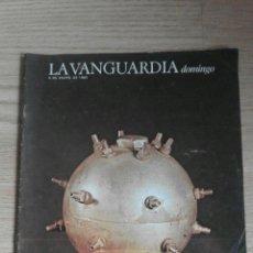 Coleccionismo Periódico La Vanguardia: LA VANGUARDIA 9 DE ENERO DE 1983 ( 1893: LA BOMBA DEL LICEO). Lote 54793333