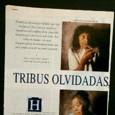 Coleccionismo Periódico La Vanguardia: TRIBUS OLVIDADAS - MAGAZINE DE LA VANGUARDIA - 24 MAYO 1992 (SOLO HOJAS DEL ARTÍCULO SUELTAS) INDIOS. Lote 55154292
