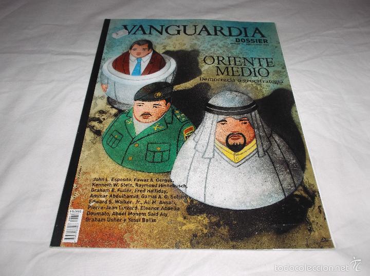 VANGUARDIA DOSSIER Nº 15: ORIENTE MEDIO, DEMOCRACIA O GEOESTRATEGIA (Coleccionismo - Revistas y Periódicos Modernos (a partir de 1.940) - Periódico La Vanguardia)