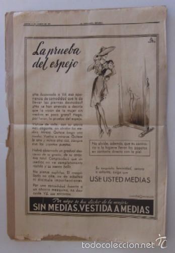 Coleccionismo Periódico La Vanguardia: LA VANGUARDIA - AÑO 1944 - LA VISITA A VIGO DEL JEFE DEL ESTADO FRANCISCO FRANCO - Foto 3 - 56911649