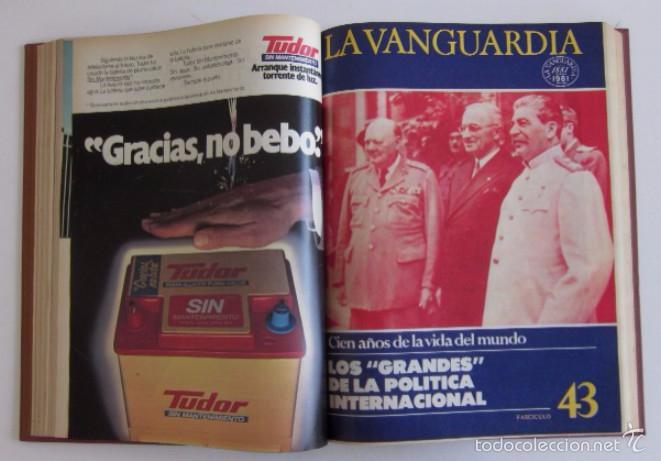 Coleccionismo Periódico La Vanguardia: FASCICULOS CIEN AÑOS DE LA VIDA EN EL MUNDO Y UN SIGLO DE PROGRESO DE LA VANGUARDIA - Foto 4 - 56984215