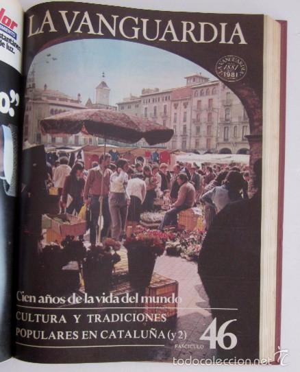 Coleccionismo Periódico La Vanguardia: FASCICULOS CIEN AÑOS DE LA VIDA EN EL MUNDO Y UN SIGLO DE PROGRESO DE LA VANGUARDIA - Foto 6 - 56984215