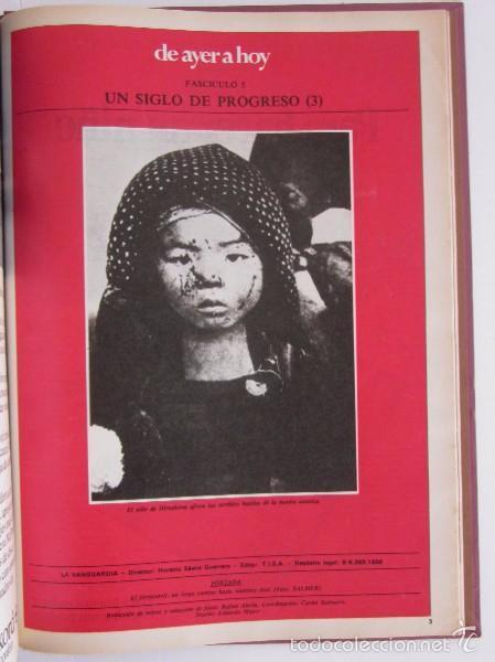 Coleccionismo Periódico La Vanguardia: FASCICULOS CIEN AÑOS DE LA VIDA EN EL MUNDO Y UN SIGLO DE PROGRESO DE LA VANGUARDIA - Foto 12 - 56984215