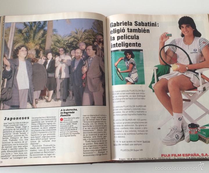 Coleccionismo Periódico La Vanguardia: La Vanguardia Domingo 1988 año completo - Foto 2 - 57760607