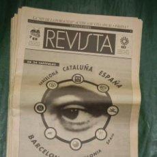 Coleccionismo Periódico La Vanguardia: LOTE DE 24 SUPLEMENTOS DOMINICALES DE LA VANGUARDIA 1992 JUEGOS OLIMPICOS - REVISTA DE BARCELONA. Lote 62327712