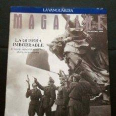 Coleccionismo Periódico La Vanguardia: 2ª GUERRA MUNDIAL 50 AÑOS DESPUÉS - MAGAZINE LA VANGUARDIA (7-MAYO-1995) LA GUERRA IMBORRABLE. Lote 73511183