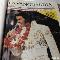 Coleccionismo Periódico La Vanguardia: LA VANGUARDIA DEL AÑO1977 AL 1989 , SOLO DOMINGOS + DISCONTINUOUS DEL 71 AL 75. Lote 73648159