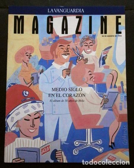 REVISTA HOLA EL ALBUM DE LOS 50 AÑOS- MAGAZINE LA VANGUARDIA (28-8-1994) ROLLING STONES (ENTREVISTA) (Coleccionismo - Revistas y Periódicos Modernos (a partir de 1.940) - Periódico La Vanguardia)