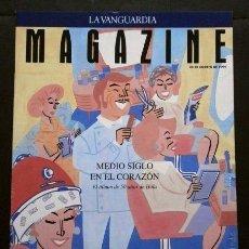 Coleccionismo Periódico La Vanguardia: REVISTA HOLA EL ALBUM DE LOS 50 AÑOS- MAGAZINE LA VANGUARDIA (28-8-1994) ROLLING STONES (ENTREVISTA). Lote 74083915