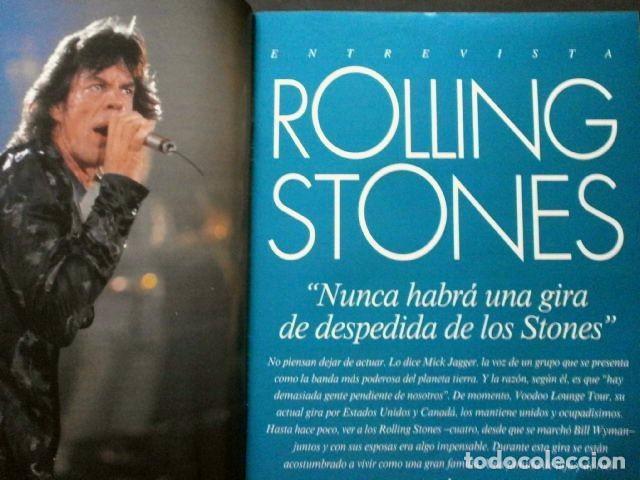 Coleccionismo Periódico La Vanguardia: Revista HOLA El album de los 50 Años- MAGAZINE La Vanguardia (28-8-1994) Rolling Stones (entrevista) - Foto 3 - 74083915
