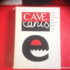 Coleccionismo Periódico La Vanguardia: CAVE CANIS Nº4 BARCELONA, 1996 REVISTA DE ARTE DE VANGUARDIA. Lote 78121301