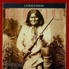 Coleccionismo Periódico La Vanguardia: INDIOS - MAGAZINE DE LA VANGUARDIA 3-ABR-1994 INDIOS AMERICANOS UNA CULTURA EN LA RESERVA-RAZA INDIA. Lote 78476269