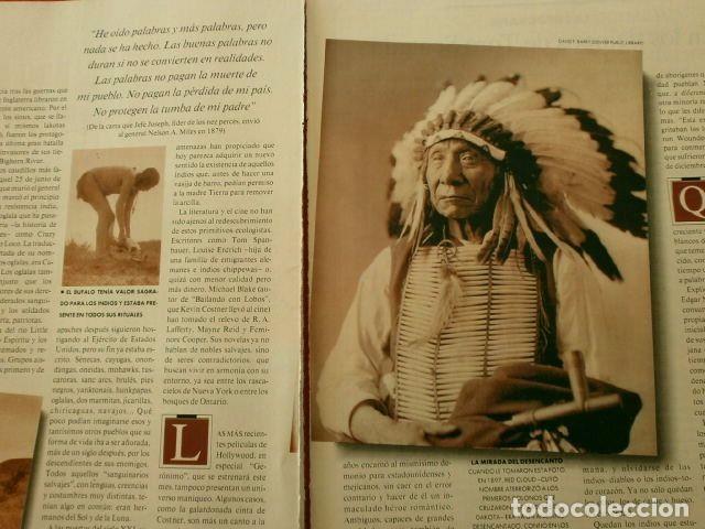 Coleccionismo Periódico La Vanguardia: INDIOS - MAGAZINE DE LA VANGUARDIA 3-ABR-1994 INDIOS AMERICANOS UNA CULTURA EN LA RESERVA-RAZA INDIA - Foto 2 - 78476269