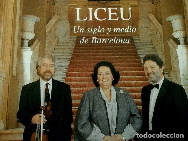 Coleccionismo Periódico La Vanguardia: El LICEO - MAGAZINE DE LA VANGUARDIA (6-MAR-1994) especial LICEU Un siglo y medio de Barcelona-Opera - Foto 2 - 78476797
