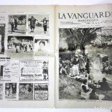 Coleccionismo Periódico La Vanguardia: LA VANGUARDIA 4 PAGINAS, 5 DE MARZO DE 1931. Lote 81232588