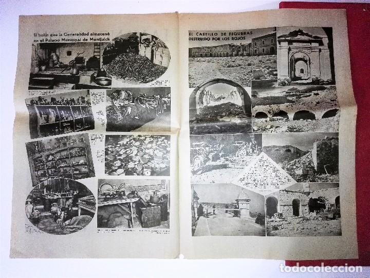 Coleccionismo Periódico La Vanguardia: LA VANGUARDIA 4 PAGINAS, 2 DE ABRIL DE 1939, EL DERRUMBAMIENTO DE LA ZONA ROJA - Foto 2 - 81234572