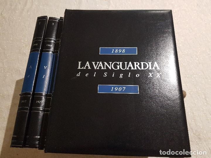 Coleccionismo Periódico La Vanguardia: LA VANGUARDIA DEL SIGLO XX. 12 TOMOS CON 10 FASCICULOS CADA UNO. - Foto 3 - 83580844