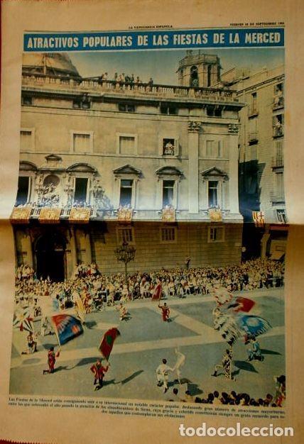 FIESTAS DE LA MERCED BARCELONA (1965) SUP. LA VANGUARDIA - LA MERCE -PUBLICIDAD BARDINET, LONGINES (Coleccionismo - Revistas y Periódicos Modernos (a partir de 1.940) - Periódico La Vanguardia)