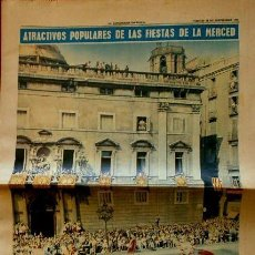Coleccionismo Periódico La Vanguardia: FIESTAS DE LA MERCED BARCELONA (1965) SUP. LA VANGUARDIA - LA MERCE -PUBLICIDAD BARDINET, LONGINES. Lote 85337512