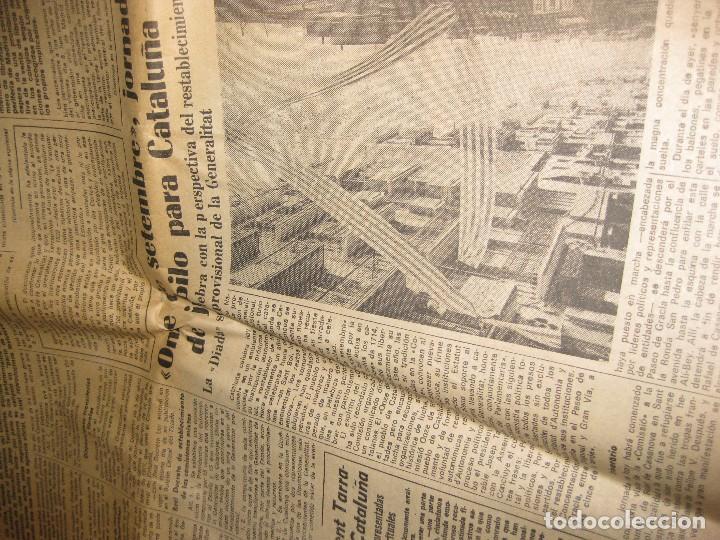 Coleccionismo Periódico La Vanguardia: periodico . la vanguardia 11 septiembre 1977 . diada nacional cataluña catalunya - Foto 3 - 94111485