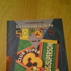 Coleccionismo Periódico La Vanguardia: REVISTA CLUB SUPER 3 «Nº 9». Lote 95542983