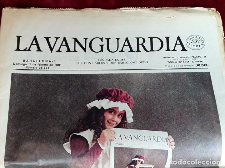 Coleccionismo Periódico La Vanguardia: LA VANGUARDIA CENTENARIO Y DIARIO DE BARCELONA. VARIOS AUTORES. 1949/1981. - Foto 3 - 98474091