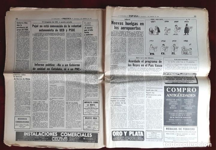Coleccionismo Periódico La Vanguardia: LA VANGUARDIA CENTENARIO Y DIARIO DE BARCELONA. VARIOS AUTORES. 1949/1981. - Foto 4 - 98474091