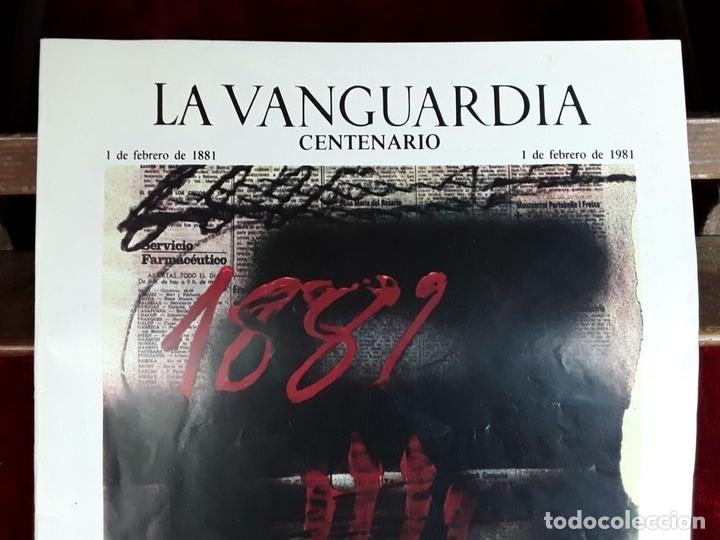 Coleccionismo Periódico La Vanguardia: LA VANGUARDIA CENTENARIO Y DIARIO DE BARCELONA. VARIOS AUTORES. 1949/1981. - Foto 6 - 98474091