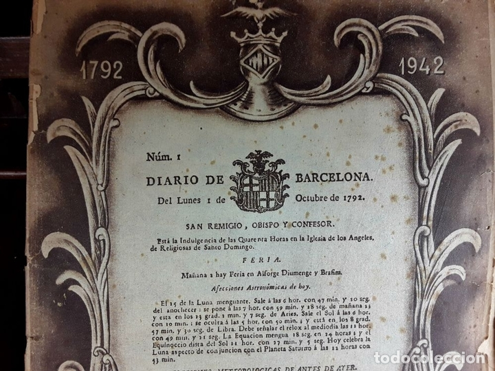 Coleccionismo Periódico La Vanguardia: LA VANGUARDIA CENTENARIO Y DIARIO DE BARCELONA. VARIOS AUTORES. 1949/1981. - Foto 9 - 98474091