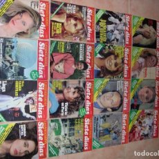 Coleccionismo Periódico La Vanguardia: FASCICULOS SIETE DIAS LA VANGUARDIA . Lote 103650879