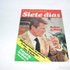 Coleccionismo Periódico La Vanguardia: JAMES BOND FASCICULO SIETE DIAS LA VANGUARDIA. Lote 103651239