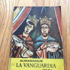 Coleccionismo Periódico La Vanguardia: ALMANAQUE 1961 LA VANGUARDIA. Lote 105985347