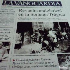 Coleccionismo Periódico La Vanguardia: LA VANGUARDIA 1909 FACSIMISIL 31 X 24 CM 16 PAG. VER FOTOS Y NOTICIAS. Lote 113229167