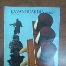 Coleccionismo Periódico La Vanguardia: ORIOL BOHIGAS SEMAFOROS MAC CARTELES DE CINE LA VANGUARDIA DOMINGO 31 MARZO 1985. Lote 115020471
