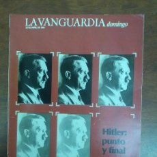 Coleccionismo Periódico La Vanguardia: HITLER JORGE LUIS BORGES LA VANGUARDIA DOMINGO 28 DE ABRIL DE 1985 1985. Lote 115022411