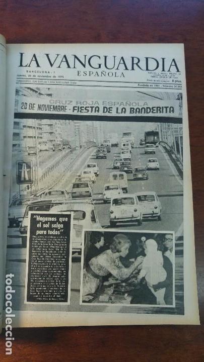 Coleccionismo Periódico La Vanguardia: 2 TOMOS LA VANGUARDIA 1973-1980. FRANCO TARRADELLAS JORDI PUJOL JUAN CARLOS ELECCIONES TRANSICION - Foto 3 - 118737715