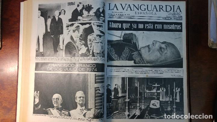 Coleccionismo Periódico La Vanguardia: 2 TOMOS LA VANGUARDIA 1973-1980. FRANCO TARRADELLAS JORDI PUJOL JUAN CARLOS ELECCIONES TRANSICION - Foto 4 - 118737715