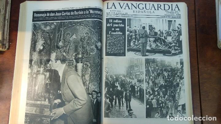 Coleccionismo Periódico La Vanguardia: 2 TOMOS LA VANGUARDIA 1973-1980. FRANCO TARRADELLAS JORDI PUJOL JUAN CARLOS ELECCIONES TRANSICION - Foto 5 - 118737715