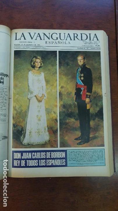 Coleccionismo Periódico La Vanguardia: 2 TOMOS LA VANGUARDIA 1973-1980. FRANCO TARRADELLAS JORDI PUJOL JUAN CARLOS ELECCIONES TRANSICION - Foto 6 - 118737715