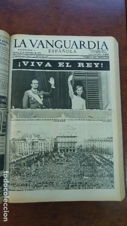 Coleccionismo Periódico La Vanguardia: 2 TOMOS LA VANGUARDIA 1973-1980. FRANCO TARRADELLAS JORDI PUJOL JUAN CARLOS ELECCIONES TRANSICION - Foto 7 - 118737715