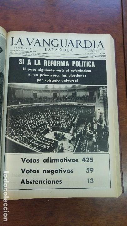 Coleccionismo Periódico La Vanguardia: 2 TOMOS LA VANGUARDIA 1973-1980. FRANCO TARRADELLAS JORDI PUJOL JUAN CARLOS ELECCIONES TRANSICION - Foto 8 - 118737715