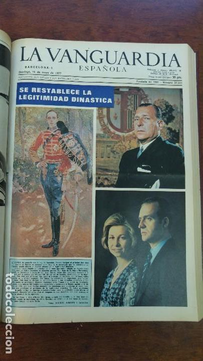 Coleccionismo Periódico La Vanguardia: 2 TOMOS LA VANGUARDIA 1973-1980. FRANCO TARRADELLAS JORDI PUJOL JUAN CARLOS ELECCIONES TRANSICION - Foto 9 - 118737715