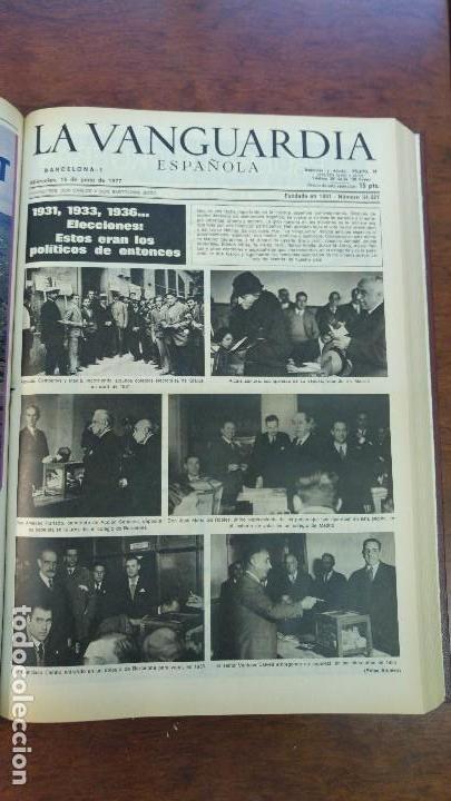 Coleccionismo Periódico La Vanguardia: 2 TOMOS LA VANGUARDIA 1973-1980. FRANCO TARRADELLAS JORDI PUJOL JUAN CARLOS ELECCIONES TRANSICION - Foto 10 - 118737715