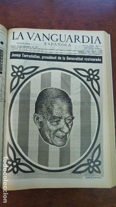 Coleccionismo Periódico La Vanguardia: 2 TOMOS LA VANGUARDIA 1973-1980. FRANCO TARRADELLAS JORDI PUJOL JUAN CARLOS ELECCIONES TRANSICION - Foto 11 - 118737715