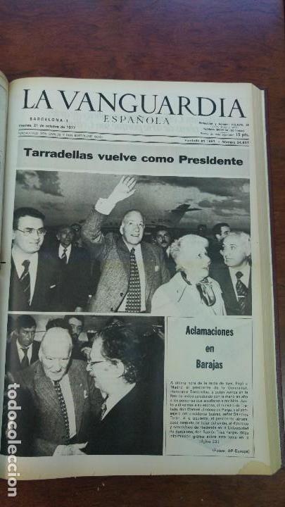 Coleccionismo Periódico La Vanguardia: 2 TOMOS LA VANGUARDIA 1973-1980. FRANCO TARRADELLAS JORDI PUJOL JUAN CARLOS ELECCIONES TRANSICION - Foto 12 - 118737715