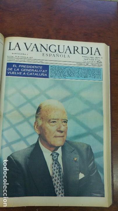 Coleccionismo Periódico La Vanguardia: 2 TOMOS LA VANGUARDIA 1973-1980. FRANCO TARRADELLAS JORDI PUJOL JUAN CARLOS ELECCIONES TRANSICION - Foto 13 - 118737715