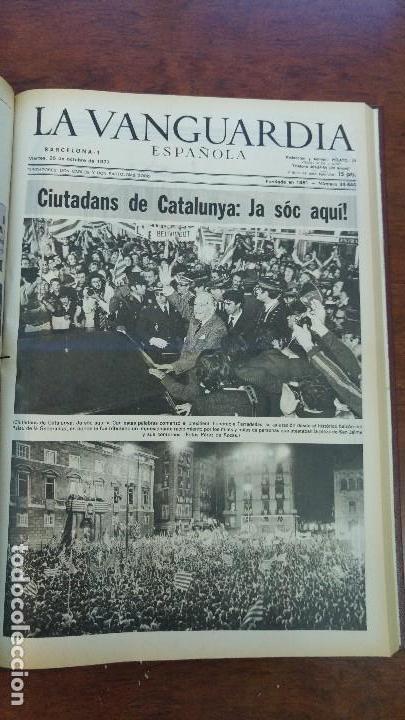 Coleccionismo Periódico La Vanguardia: 2 TOMOS LA VANGUARDIA 1973-1980. FRANCO TARRADELLAS JORDI PUJOL JUAN CARLOS ELECCIONES TRANSICION - Foto 14 - 118737715