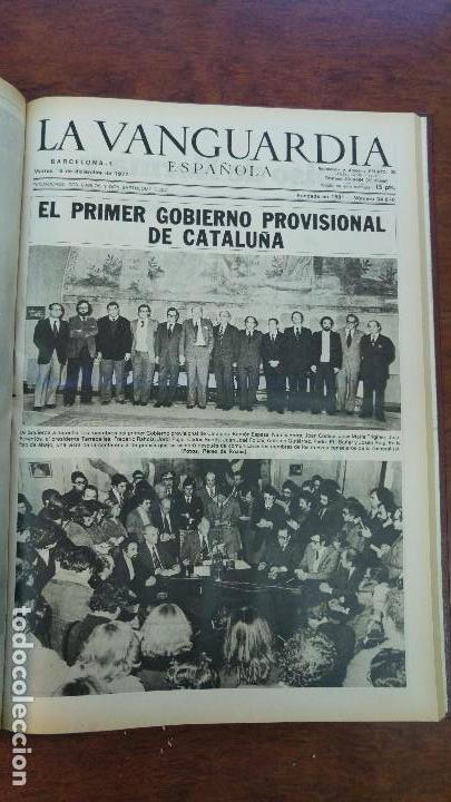Coleccionismo Periódico La Vanguardia: 2 TOMOS LA VANGUARDIA 1973-1980. FRANCO TARRADELLAS JORDI PUJOL JUAN CARLOS ELECCIONES TRANSICION - Foto 15 - 118737715