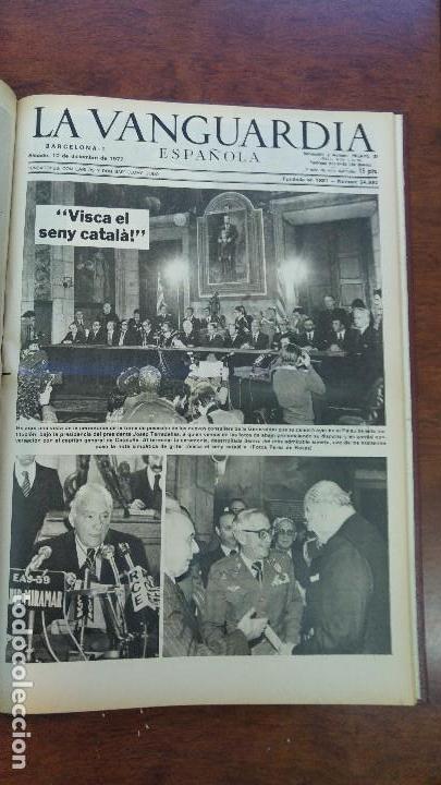 Coleccionismo Periódico La Vanguardia: 2 TOMOS LA VANGUARDIA 1973-1980. FRANCO TARRADELLAS JORDI PUJOL JUAN CARLOS ELECCIONES TRANSICION - Foto 16 - 118737715